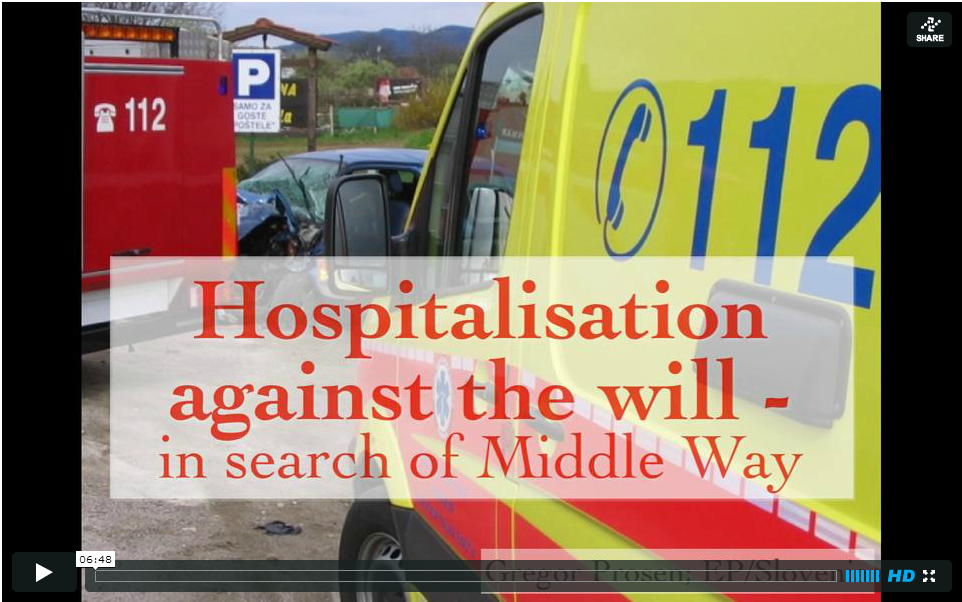 Hospitalisation against the will - in search of Middle Way