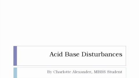 Dummies Guide to Acid Base Disturbances