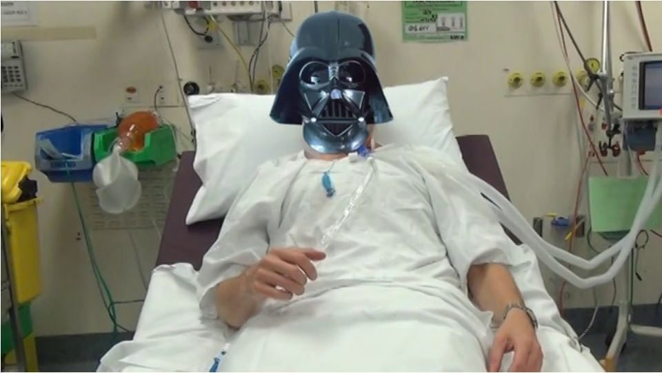 Vader breathes again..