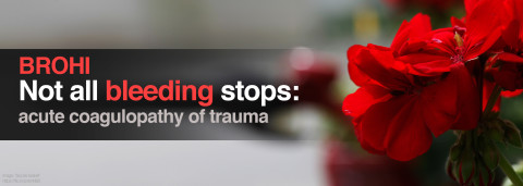 Acute Coagulopathy of Trauma by Brohi