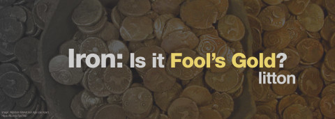 iron: is it fool's gold? by litton