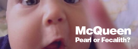 Pearl or Fecalith? – Lisa McQueen