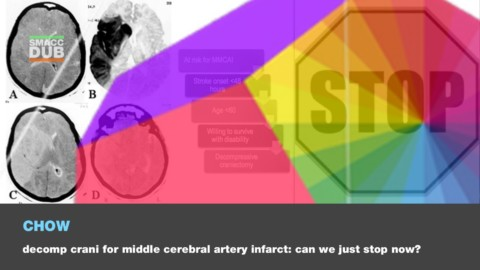 Decompressive Craniectomy for Middle Cerebral Artery Infarction: Can we just STOP now?