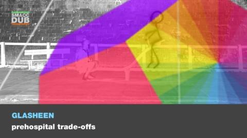 Prehospital trade-offs