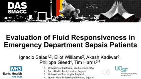 Evaluation of Fluid Responsiveness in Emergency Department Sepsis Patients