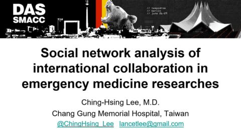 Social network analysis of international collaboration in emergency medicine researches