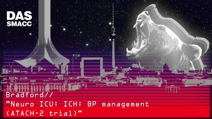 ICH: BP management (ATACH-2 trial)
