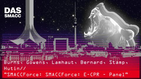 SMACCForce: E-CPR – Panel