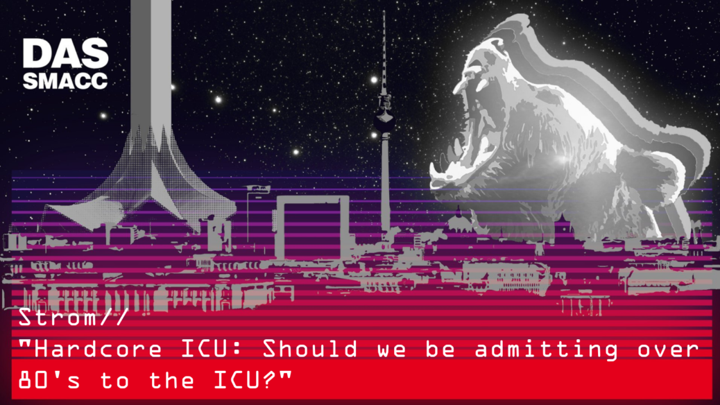Should we be admitting over 80's to the ICU?